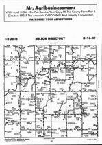Dodge County Map Image 016, Dodge and Steele Counties 1992